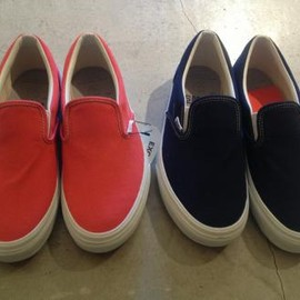 VANS - BEAUTY&YOUTH × VANS SLIP-ON 2COLORS