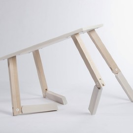 Caroline Olsson - Bambi, The table can be used at two different levels.