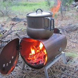 DIY Backpacking Stove - Source: Hill People Gear