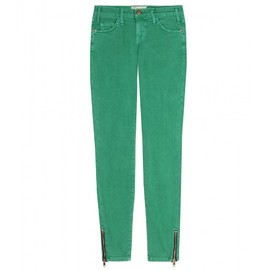 Current/Elliott - ANKLE SKINNY ZIP JEANS