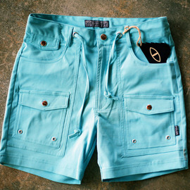 POLeR - Camp Vibes Shorts - Blue