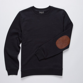 A.P.C. - ELBOW PATCH SWEATER