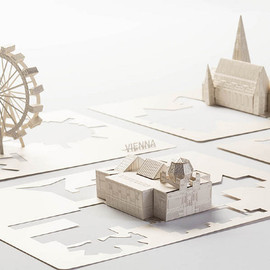 Christian Ferrara - Pop-up Vienna - a collection of Vienna landmarks