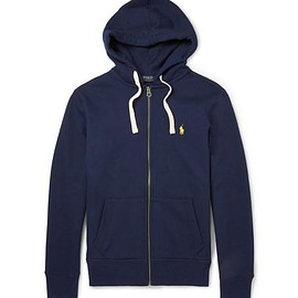 Polo Ralph Lauren - Cotton-Blend Jersey Hoodie