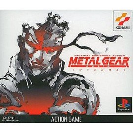 KONAMI - METAL GEAR SOLID INTEGRAL