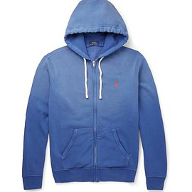 Polo Ralph Lauren - Fleece-Back Cotton-Blend Jersey Zip-Up Hoodie