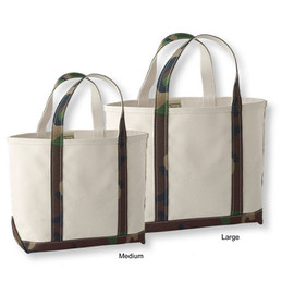 L.L.Bean - Boat and Tote camouflage handle