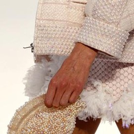 CHANEL - shell clutch S/S 2012