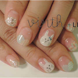virth+LIM - hand nail ウサギ