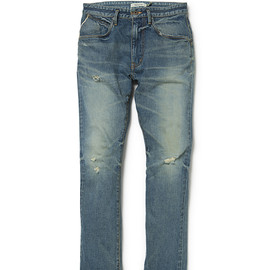 "nonnative - DWELLER 5P JEANS COTTON 12oz SELVEDGE DENIM VW ""DAVE"