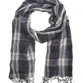 DRIES VAN NOTEN - 'Frollo' tartan wool scarf