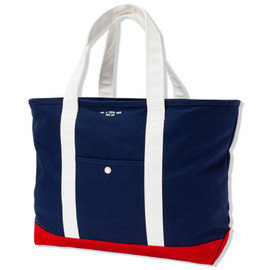 UNIVERSAL PRODUCTS - TOTE BAG[NVY/WHT]