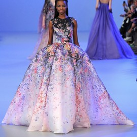 Elie Saab Haute Couture - Flower dress