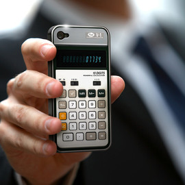 Old-School Calculator iPhone Case