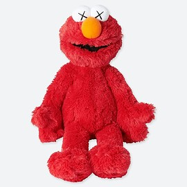 UNIQLO, UT, KAWS - Plush Toy Sesame Street Elmo