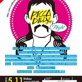Piccadilly Night - 5/11(金)Piccadilly Night前売りチケット