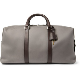 Mulberry - MulberryClipper Leather-Trimmed Canvas Holdall Bag