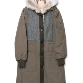 MARC BY MARC JACOBS - DIVISION PARKA COAT