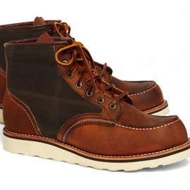Brooks Brothers for Red Wing - 4553 Tartan Panel Boot