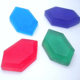 ゼルダの伝説 - Zelda Rupee Soap - Set of 4