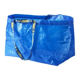 IKEA - FRAKTA Shopping bag, large, blue
