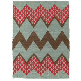 Donna Wilson - FAIRISLE RUG IN ROSE CLOUD