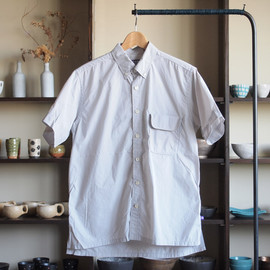 THE NORTH FACE PURPLE LABEL - H/S B.D Shirt #silver gray