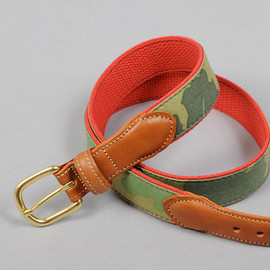 The Hill-Side's & Co - Leaf Camo Belt