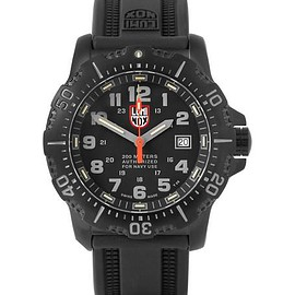 Luminox - ANU 4221 Stainless Steel and Rubber Watch
