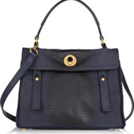 Yves Saint Laurent - Muse Two Medium leather and suede tote