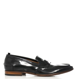 Alexander McQueen - Leather penny loafers