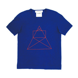 ANREALAGE / アンリアレイジ - TOKYO TOWER TEE (BLUE)