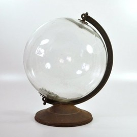 One of a Kind World Globe, 1940's