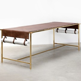 fendi / formafantasma - craftica, leather table