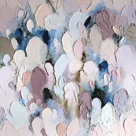 "Lisa Madigan - Morning Glory (""Kaleidoscope"" series), breathtaking works, oil on linen"