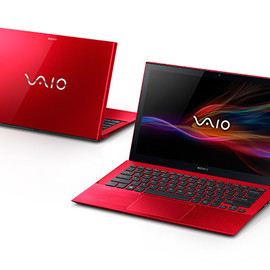 SONY - VAIO Pro 13 Red edition