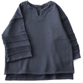 CYDERHOUSE - Ethnic S/S Sweat (earth grey)