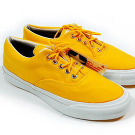 Converse - Vintage Deadstock Converse Skid Grip: Sunflower Yellow