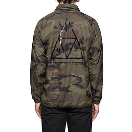 huf - triple triangle coach jacket