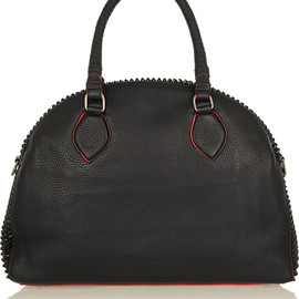 Christian Louboutin - Panettone large spiked textured-leather tote