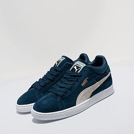 Puma - Stepper - Blue/White (Suede)
