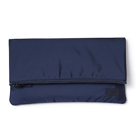 "HEAD PORTER - ""MASTER NAVY"" CLUTCH BAG"