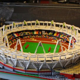 Warren Elsmore - 2012 London Olympic Stadiums with LEGO