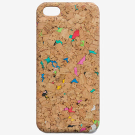 Jun Duffy - Cork Case in Coloured Freckles