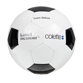 "Liam Gillick, kamel mennour, colette - Training Soccer Ball ""Eric The King Fan Club"""