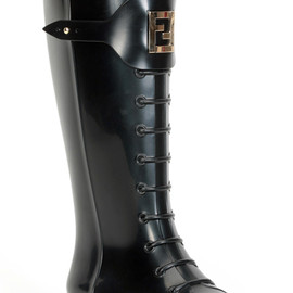 FENDI - Rubber boots