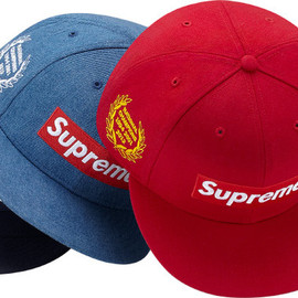 Supreme - Box Logo New Era Cap