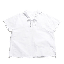 ENGINEERED GARMENTS - Sailor Shirt-Cotton Oxford-White