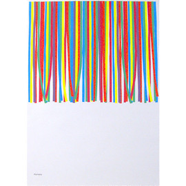 mike mills - Mark's Paper Ribbons Poster