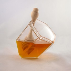 biodidactic - Hive Honey Set - Clear Glass